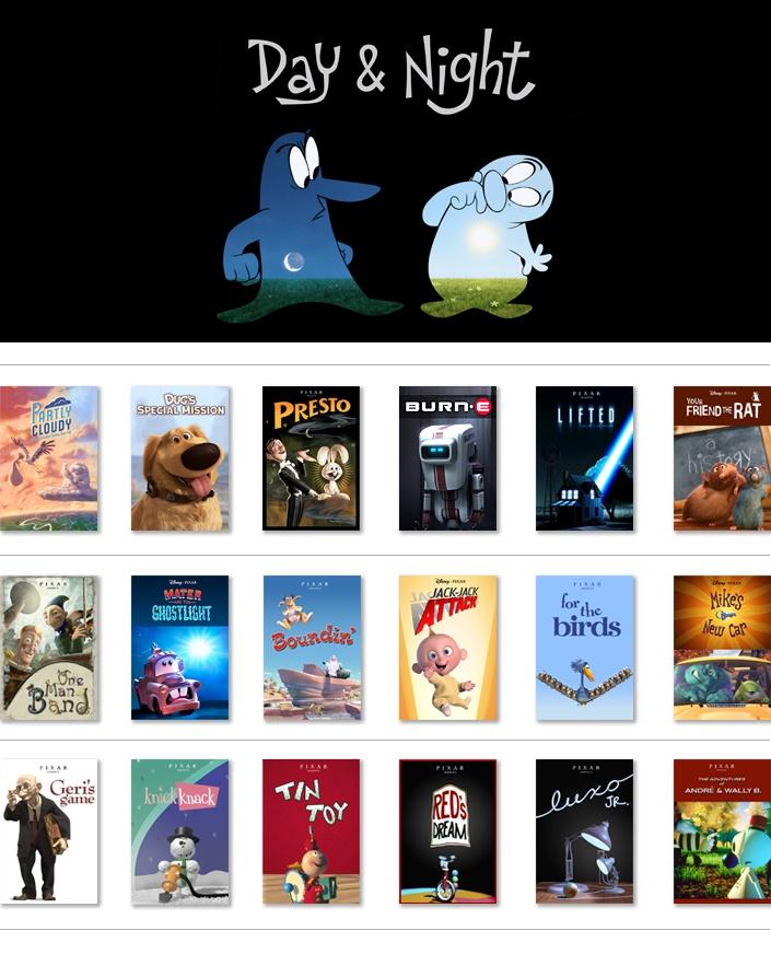 Pixar Short Films Collection Vol 1 Walmart