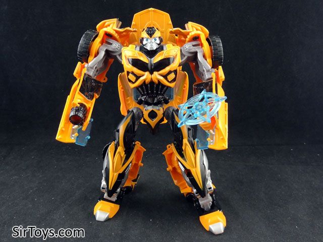 New 2014 Transformers Age of Extinction AOE One Step Bumblebee Figure
