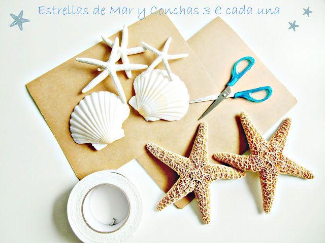 17 mejores ideas sobre decoraciones estrellas de mar en for Decoracion con estrellas