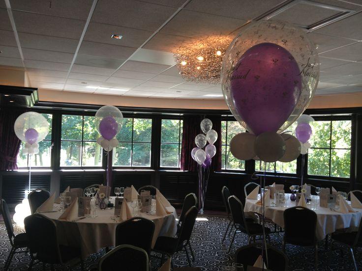 19 best images about ballonnen huwelijk on pinterest for Ballonnen tafels