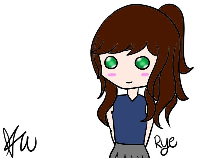 Omg it's me >∆< why do i look so beautiful in that drawing rather than in reality hahaha xD Created by Keegan #digital #artwork #girl