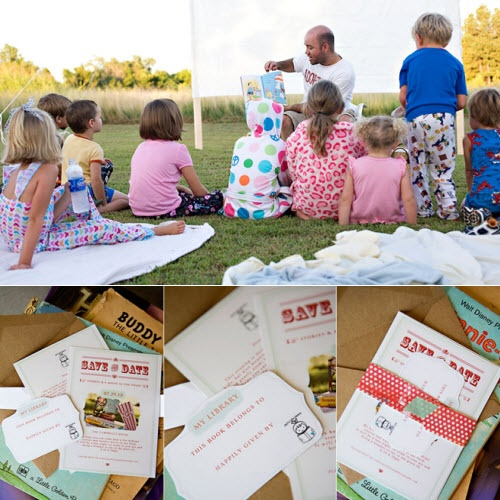 Books and a Movie Party: Birthday, Idea, Bday Party, Movies Party, Kids, Letting S Party'S, Scouts Storybook, Party'S Children, Movies Bday