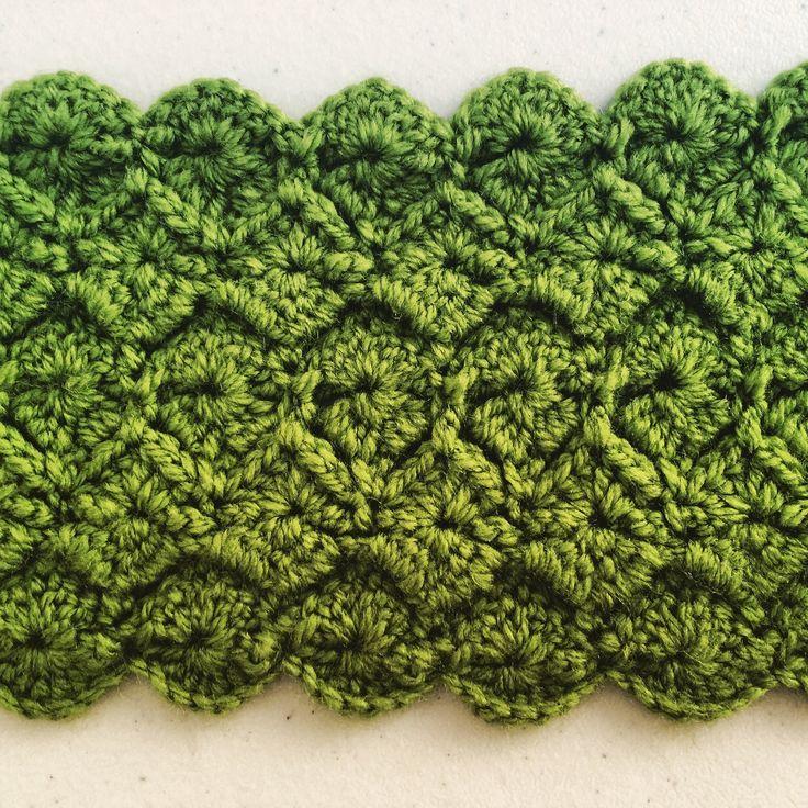Easy Catherine wheel variation - Raised diamonds - crochet pattern See how to make easy Catherine wheel crochet pattern as raised diamonds. For more details visit http://www.cherrycheeksquickstitches.com/#!easy-catherine-wheel-crochet-pattern/f7kw9