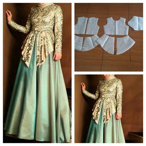 Gamis pattern.  Order by click our link / line : modelliste Idea!!