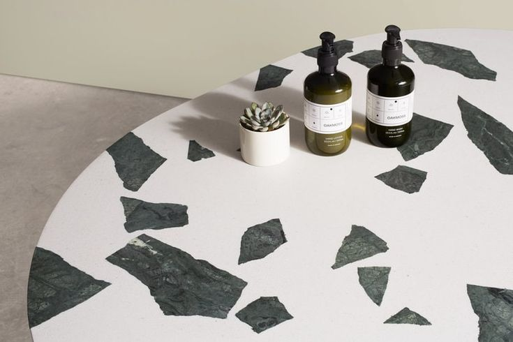 Handmade Marble Table Tops Designed by Robin Grasby