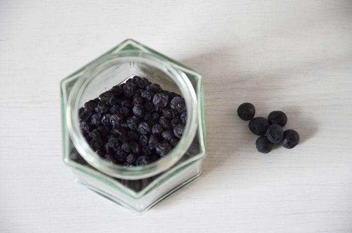 Torkade blåbär - dried blueberries