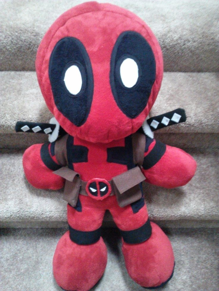 Deadpool Plushie V.2