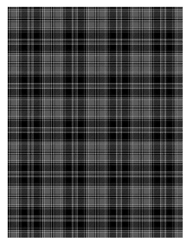 Tartan A Pattern Which Consists Of Criss Crossed
