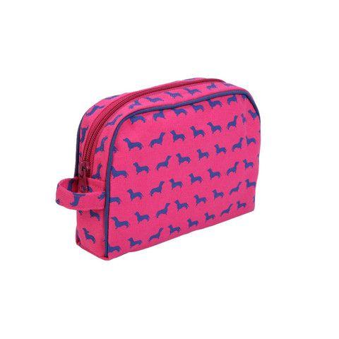 Dachshund Cosmetic Bag www.kellyandsam.com.au