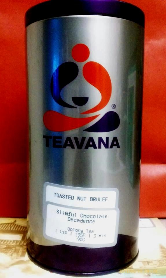 Just tried my new Teavana tea...yummy & chocolatey! lol