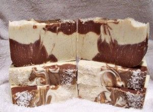 Jeges csokoládé-kókusz samponszappan