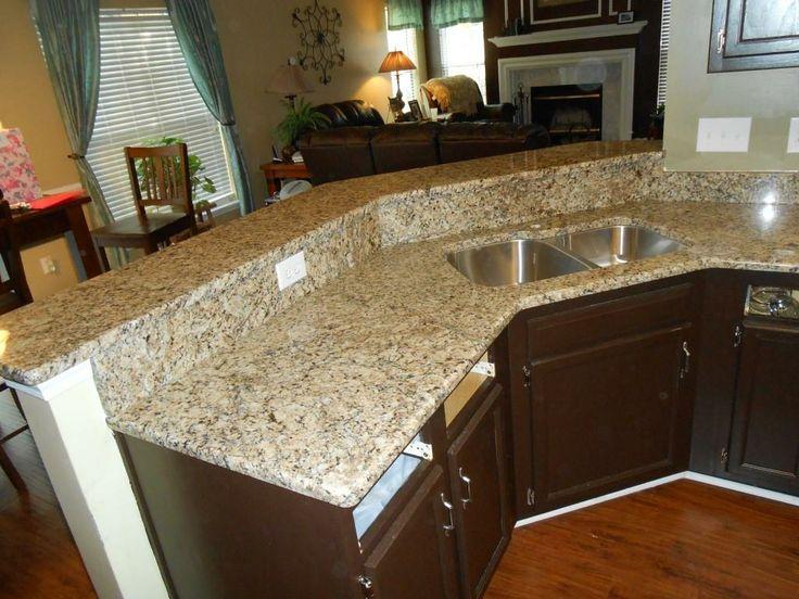 Kitchen Backsplash Ideas With Venetian Ice Granite