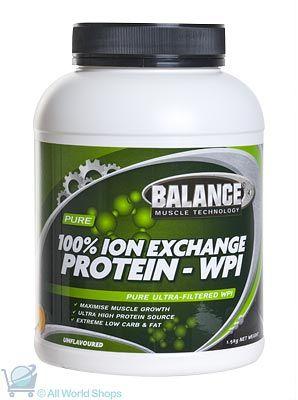 Ion Exchange Protein - WPI - 750g Powder | Shop New Zealand NZ$ 77.90