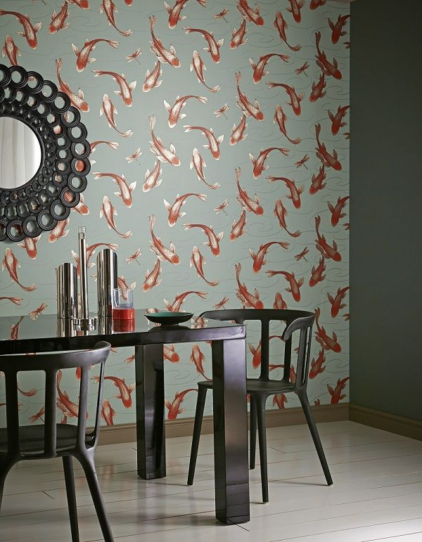 Koromo wallpaper in Clearwater from the 'Shade Wilder' collection by Arthouse. Available exclusively in New Zealand through Guthrie Bowron.