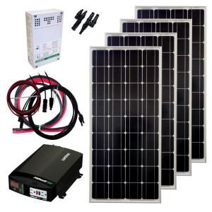 400-Watt Off-Grid Solar Panel Kit-GS-400-KIT at The Home Depot