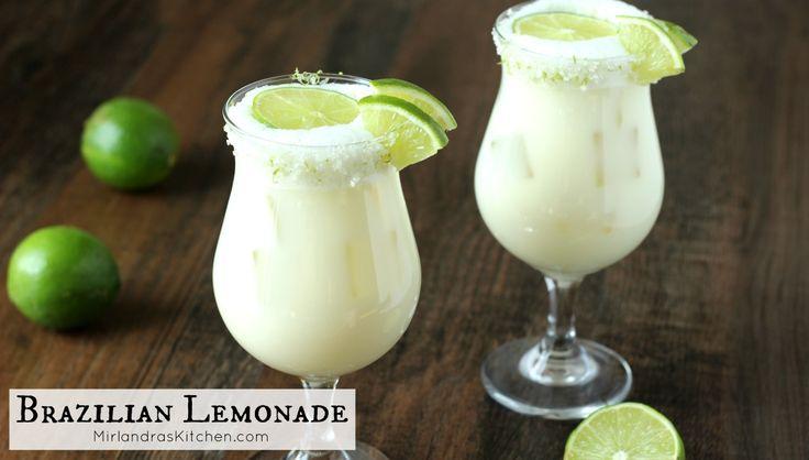 ... Brazilian Lemonade on Pinterest | Lemonade 6, Limes and Virgin drinks