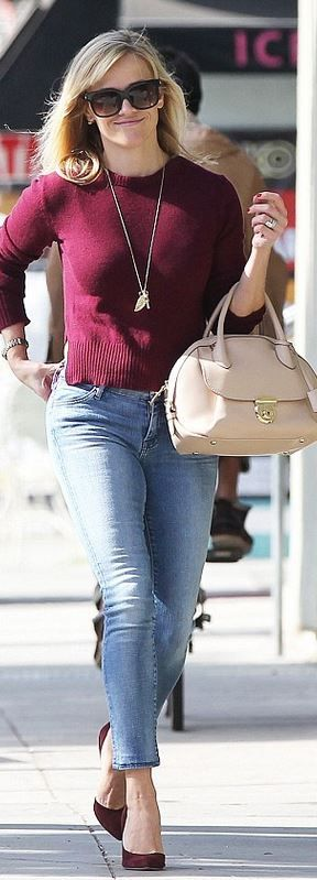 Necklace – Jennifer Meyer Sunglasses – Thierry Lasry Jeans – Koral Watch – Rolex Purse –...