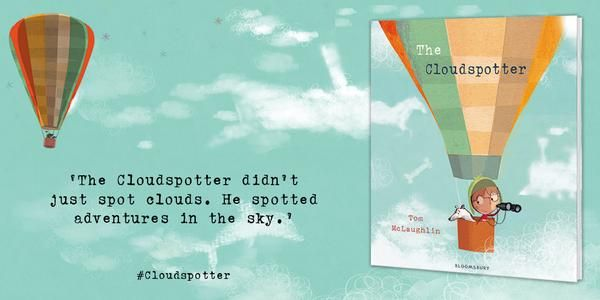 The Cloudspotter by Tom McLaughlin | Sparking Children's Thinkibility
