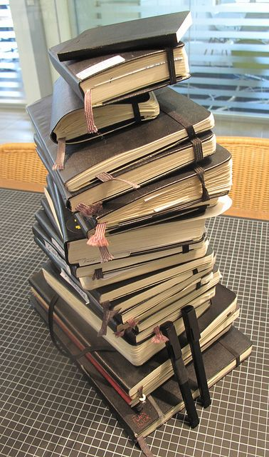 Moleskine Tower by Moleskine ®, via Flickr