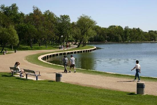 Wascana Park, Regina SK - we drove by a few times at least. :)