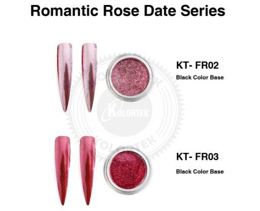 Rose mirror pigment