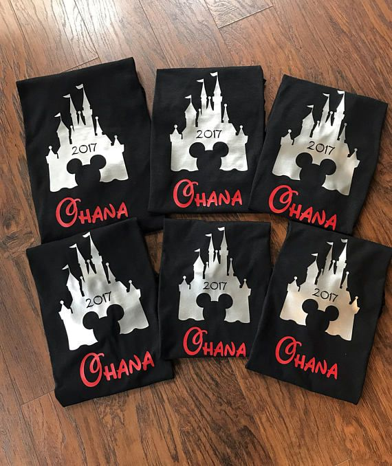Camisas familia Disney emparejando familia Disney camisetas