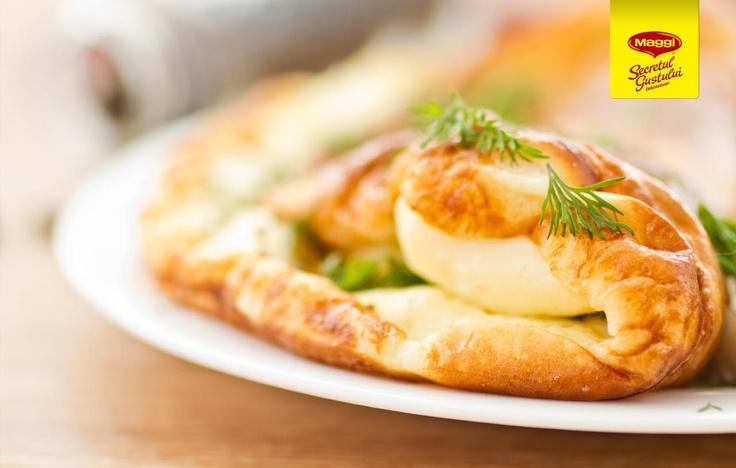 Pancakes with traditional vegetables // Clatite cu legume taranesti -> https://www.facebook.com/MAGGI.Romania/