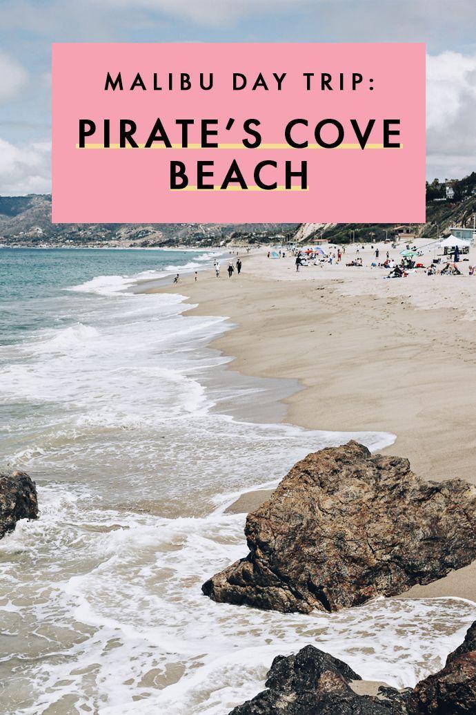 bcdfd38c856550 While in Malibu, don't forget to take a quick detour to the best beach in  California: Pirate's Cove Beach! #California #Malibu