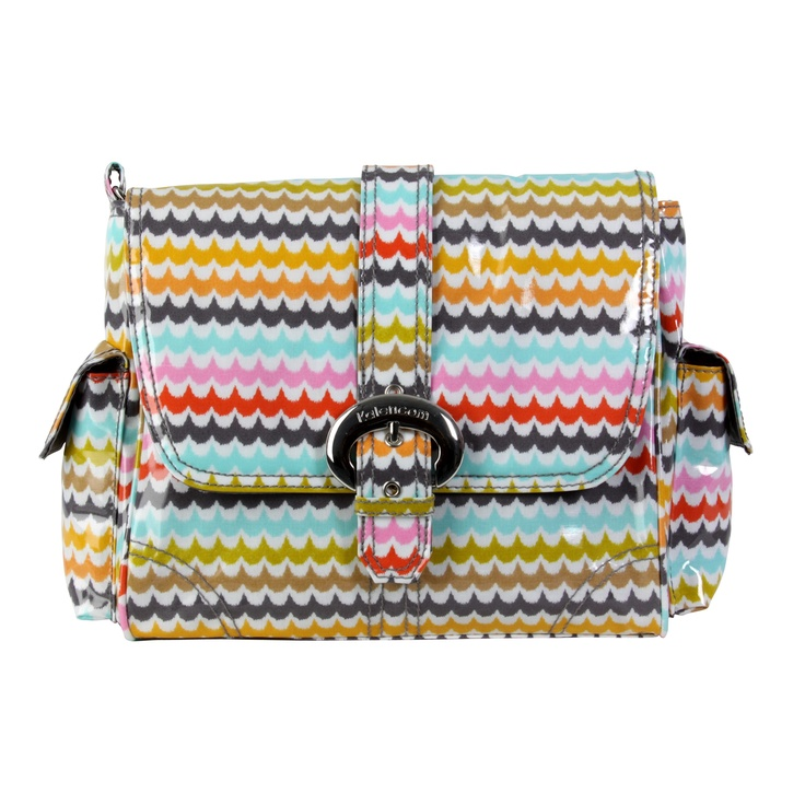 Kalencom 2959 Spa Midi Coated Buckle Diaper Bag - New Baby Supply $60