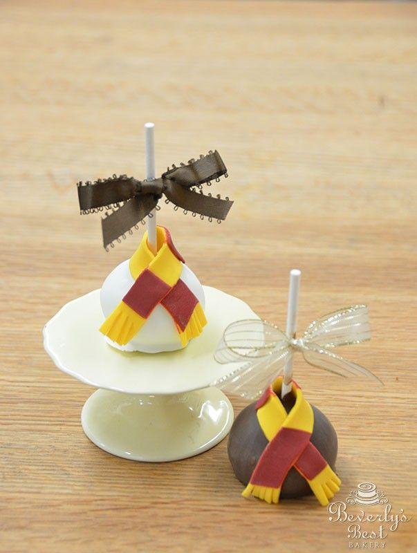 Harry Potter Cake Pops. Sounds SO good! Just the sound of Harry Potter makes my…