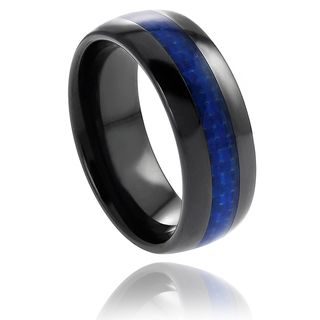 @Overstock.com - Vance Co. Ceramic Blue Carbon Fiber Inlay Band (8 mm) - Daxx men's ceramic ring Blue fiber inlay bandClick here for ring sizing guide  http://www.overstock.com/Jewelry-Watches/Vance-Co.-Ceramic-Blue-Carbon-Fiber-Inlay-Band-8-mm/7564504/product.html?CID=214117 $32.49