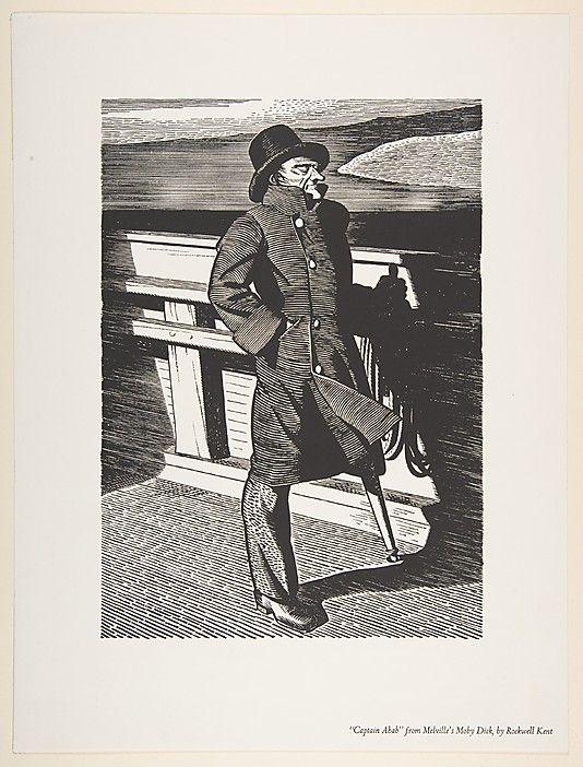 Captain Ahab Rockwell Kent (American, Tarrytown, New York 1882–1971 Plattsburgh, New York)