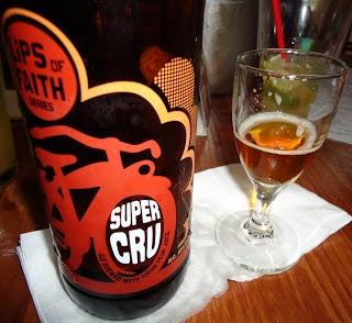 Beer Tasting Notes {New Belgium Lips of Faith: Grand Cru and Super Cru}