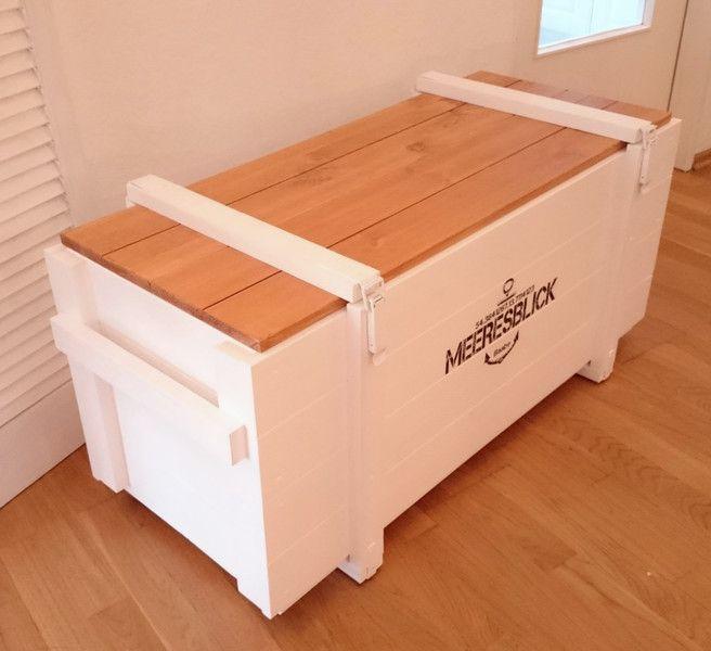 26 besten auflagenbox kissenbox holz bilder auf. Black Bedroom Furniture Sets. Home Design Ideas