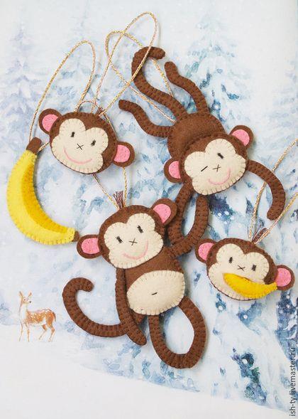 Felt Monkeys