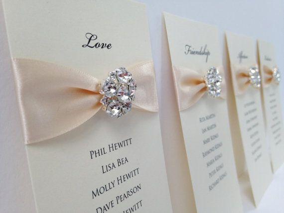 DIY Seating Plan Wedding Table Plan Seating by WholeCaboodleDesign