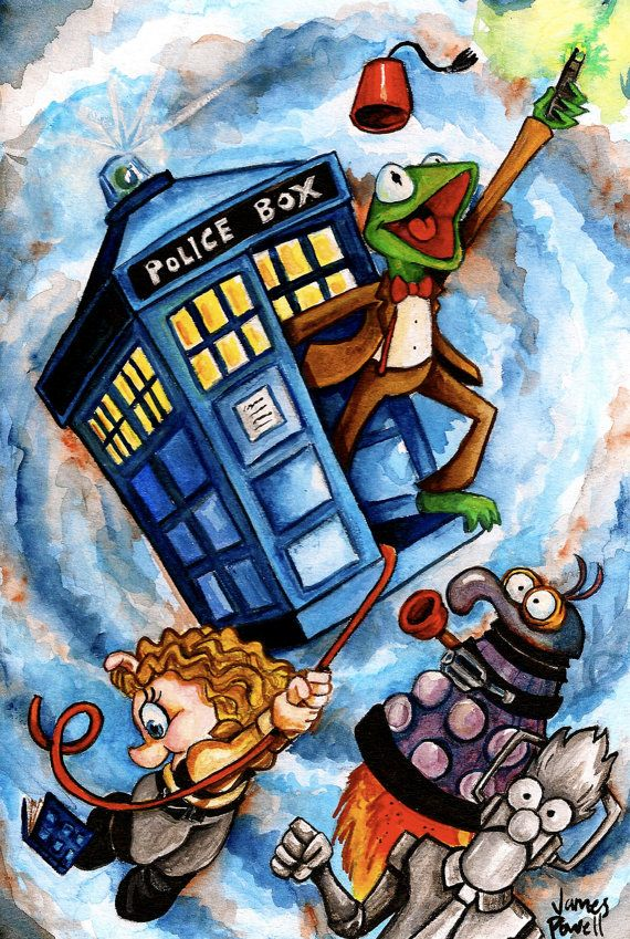 Doctor Who Muppets | Kermit as 11 and Miss Piggy as River is brilliant! | Doctor Who