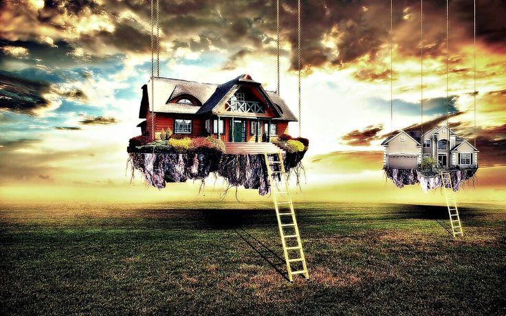 Wiszace domy - bemol style art