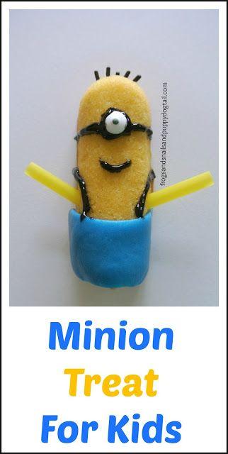 25 Best Ideas About Minion Treats On Pinterest Cupcake