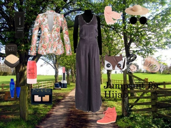 """""""Jumpsuit for Hijab"""" by fabsmusician on Polyvore"""