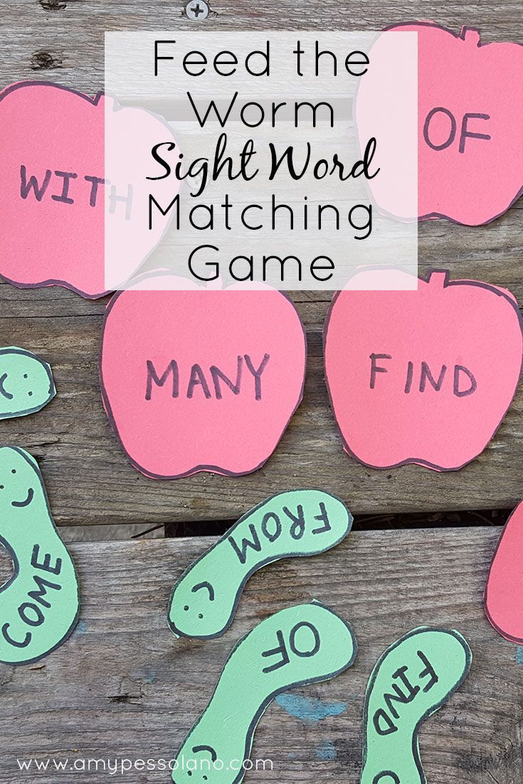 316 best images about Sight Word Activities on Pinterest ...