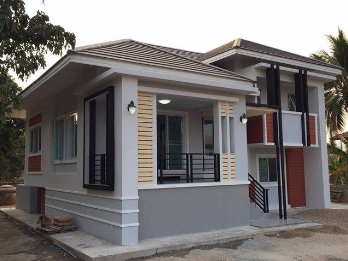 Modern And Unique 3 Bedroom House For A Growing Family Pinoy Eplans House Porch Design Minimalist House Design Porch Design