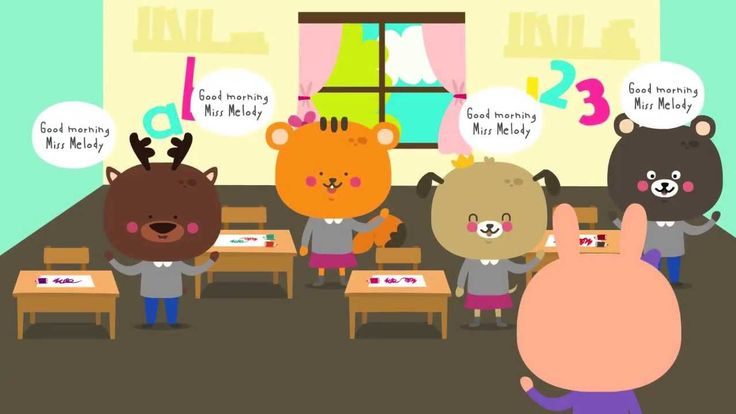 Good Morning Song | Circle Time Song for Children Love this, we sing this every morning. :)