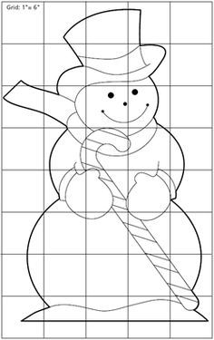 snowman yard decoration plan pattern