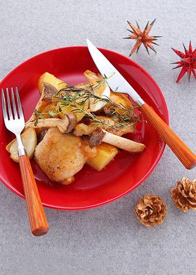 チキンときのこのハーブグリル のレシピ・作り方 │ABCクッキングスタジオのレシピ | 料理教室・スクールならABCクッキングスタジオ