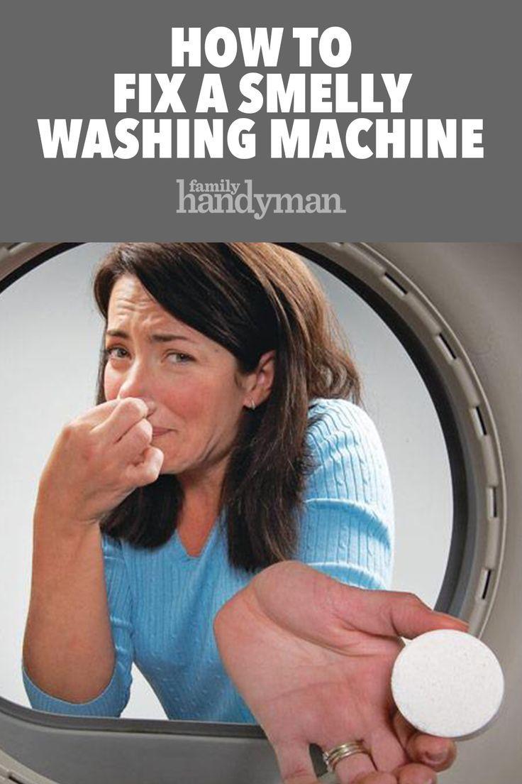 Wie Man Eine Stinkende Waschmaschine Repariert Eine