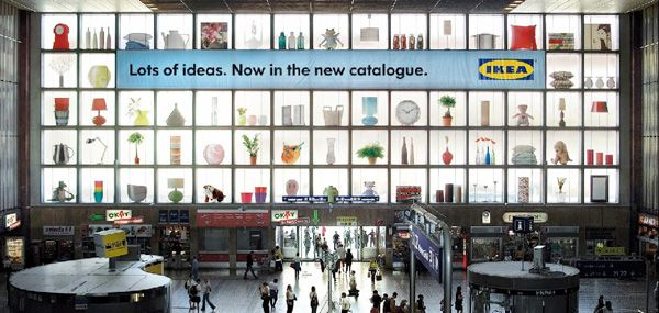 Guerrilla Marketing – Creative Attention Seeking #3 - IKEA http://arcreactions.com/
