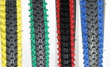 "2-BICYCLE TIRES 26"" X 2.10 VEE RUBBER 2-TONE COLORS MTB BMX CRUISER CYCLING BIKE"