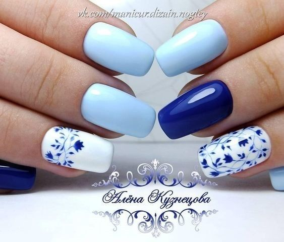 Easy Flowers Nail Art Designs – 100 pict…