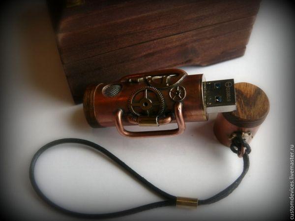 """Флешка """"Аппарат"""" 32 Gb / Наши пользователи / Блошиный рынок / Коллективные блоги / Steampunker.ru - сеть для любителей steampunk'а"""